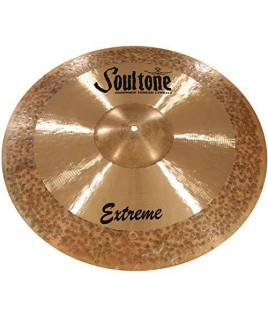 """Soultone Cymbals Extreme, 25.5 inches Crash Ride Cymbal ((EXT-CRR25.5""""))"""